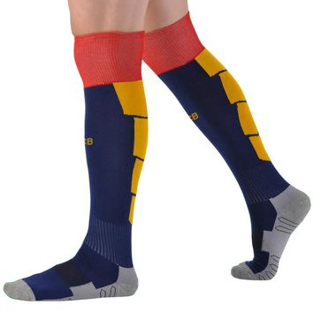 Professional Thick Knee High Training Long Warm Sports Socks Kids and Adult