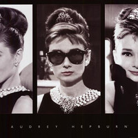 Audrey Hepburn Holly Golightly Poster 24x36