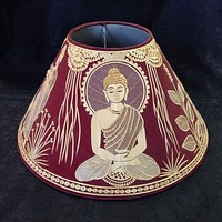Buddha Sikki Art Lamp Shade