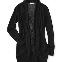 Aeropostale  Oversized Cardigan - Black, X-Small