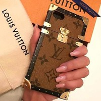 LOUIS VUITTON 2018 Hot ! iPhone 8 iPhone 8 Plus iPhone X iPhone XS iPhone XS MAX iPhone XR - Stylish Cute On Sale Hot Deal Matte Couple Phone Case For iphone 6 6s 6plus 6s plus iPhone 7 iPhone 7 plus