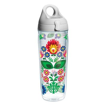 Tervis Folk Heritage 24-oz. Water Bottle (Grey)