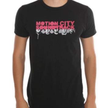 Motion City Soundtrack Faces T-Shirt
