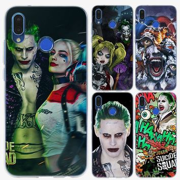 joker and harley suicide squad Soft TPU Silicone Phone Case for Huawei P20 P20Lite P10 P8 P9 Lite 2017 P Smart