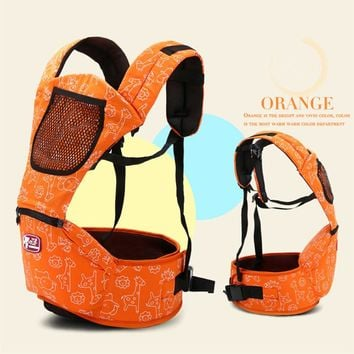 2016 New Cotton Ergonomic Baby Carrier Multifunctional Baby Sling Toddler Wrap Baby Backpack Comfortable Baby Carrier