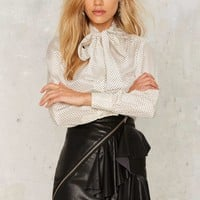 Nasty Gal Double Trouble Ruffle Skirt