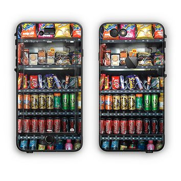 The Vending Machine Apple iPhone 6 Plus LifeProof Nuud Case Skin Set