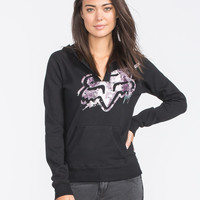 Fox Sparks Womens Hoodie Black  In Sizes