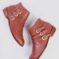 Passion Ankle Boots In Rust By Latigo