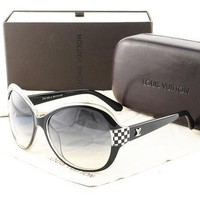 LV Women Casual Sun Shades Eyeglasses Glasses