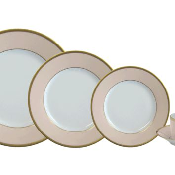 Haviland Arc En Ciel Dinnerware | Dusty Pink