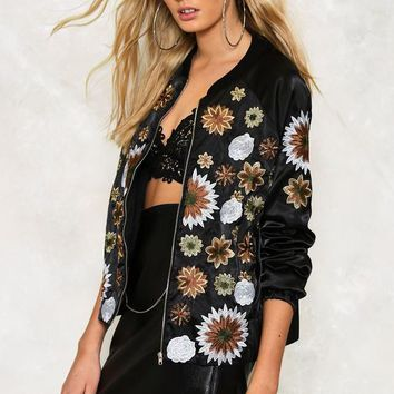 Frida Embroidered Jacket | Shop Clothes at Nasty Gal!