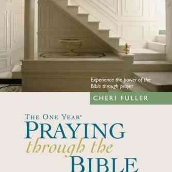 The One Year Book of Praying Through the Bible: 365 Devotions (One Year Bible)