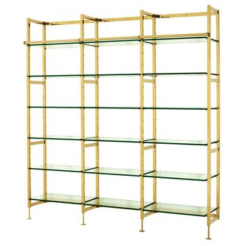 Gold Display Cabinet | Eichholtz Delano