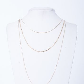 Dainty Dazzled Layered Necklace