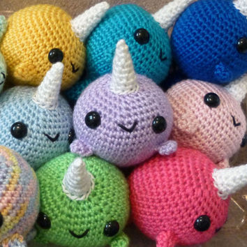 Whale And Narwhal Crochet Pattern Pdf From Syppahs Cute