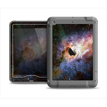 The Multicolored Space Explosion Apple iPad Air LifeProof Nuud Case Skin Set