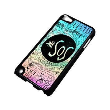 5 SECONDS OF SUMMER 3 5SOS iPod Touch 5 Case