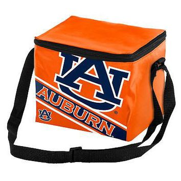 Licensed Auburn Tigers Official NCAA Cooler 6 Pack Ice Lunch Box Bag Forever Collectibles KO_19_1