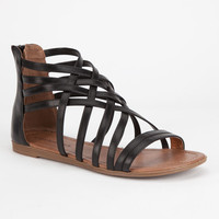 Soda Samina Womens Sandals Black  In Sizes