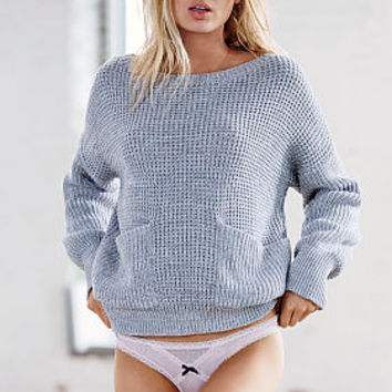 Boatneck Pocket Sweater - Victoria's Secret