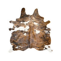 Natural Cowhide Rug in Light Brown