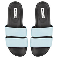Buy Whistles Maddy Double Band Poolside Sandals | John Lewis