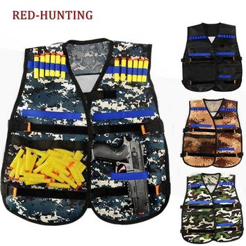Tactical Vest Kit for Nerf Guns N-strike Elite Series Perfect Gifts for Birthday and Christmas