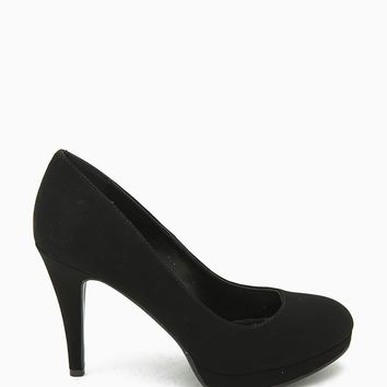 Eiffel-H Basic Low Heel Nub Pump