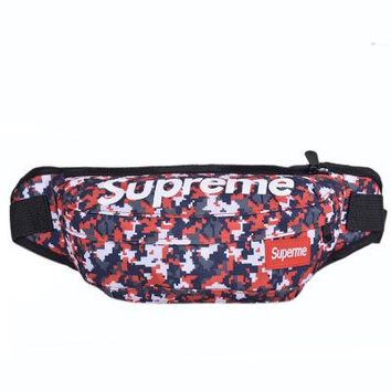 Men's and Women's Supreme Chest Pockets Oxford Casual Riding Bag  062