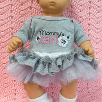 "AMERICAN GIRL Bitty Baby Clothes ""Mommy's Girl 2"" (15 inch) doll outfit dress, shorts, booties/ socks, and headband/hair clip"