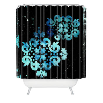 Madart Inc. Modern Dance Mysterious Shower Curtain