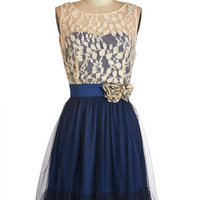 Home Sweet Scone Dress in Navy