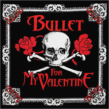 Bullet For My Valentine Skull Bandana Black