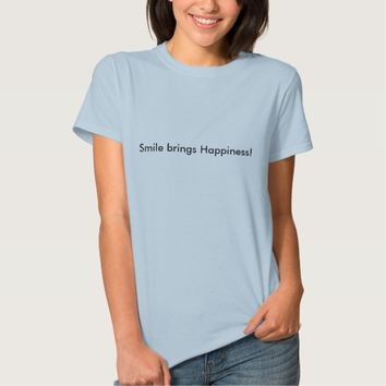 simple Tshirt with a message