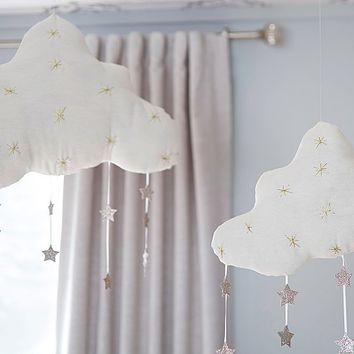 Hanging Clouds with Stars