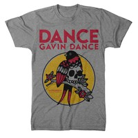 Bird Skull Heather Grey : DGD0 : MerchNOW - Your Favorite Band Merch, Music and More