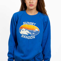 Sunset Sweatshirt by NBDvintage on Etsy