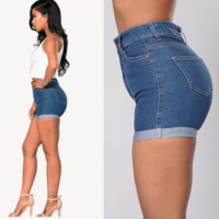 Women'S Casual Sexy Denim Shorts