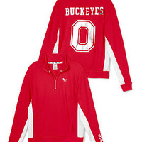 The Ohio State University Boyfriend Half-Zip - PINK - Victoria's Secret