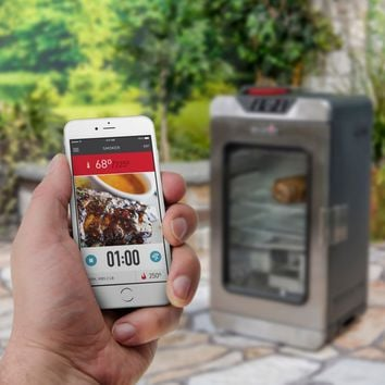 Char-Broil SmartChef Connected Digital Electric Smoker | www.hayneedle.com