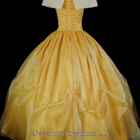 Dream Series Beauty and the Beast Costume Custom Made