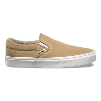 Suede Fleece Slip-On | Shop At Vans