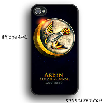 house arryn game of thrones case for iPhone 4[S]