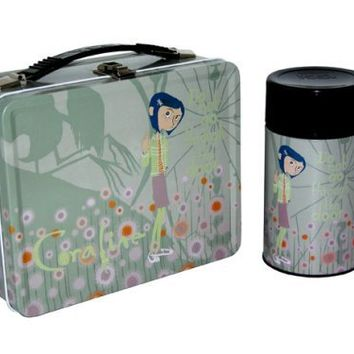 "Coraline Lunchbox ""Pastel Flowers"""