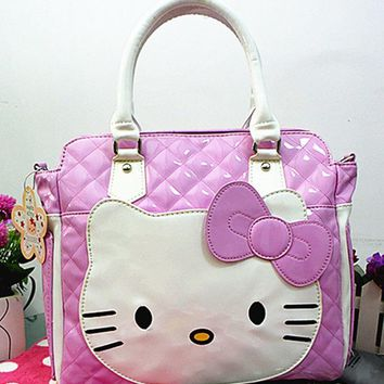 New Hello kitty Handbag Purse Shoulder Bag yey-14558