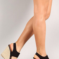 The Denise Espadrille Wedges