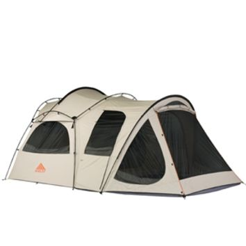 Kelty Frontier 10x10 | 6-Person 3-Season Poly/Cotton Canvas Tent