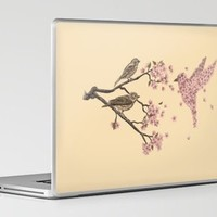 Blossom Bird Laptop & iPad Skin by Terry Fan | Society6