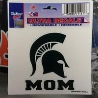 "NCAA Michigan State Spartans - Mom - Multi-Use Decal 3"" x 4"""